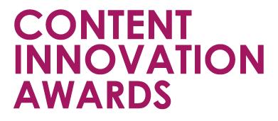 Content Innovation Awards